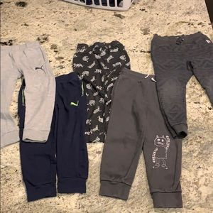Boys jogger lot. Gap, Old Navy, Puma, OshKosh
